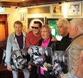 Goldverleihung mit Bill Wyman am 20.9.2012 Fotocredit (c) Kees Tabak