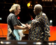 Crossroads 2010 - Eric Clapton & B.B.King, © Kevin Mazur