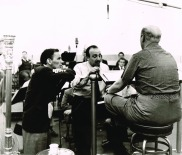 All Or Nothing At All 3 © Charles Granata - 1952 FS, Axel Stordahl & Mitch Miller In Recording Studio