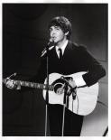 Beatles - Paul, Acoustic, Yesterday - Ed Sullivan Show - C 1965 CBS Photography
