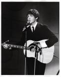 Beatles - Paul, Acoustic, Yesterday - Ed Sullivan Show - C 1965 CBS Photography
