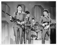 Beatles - Full Band, 2nd Show Miami Stage Ed Sullivan Show - C 1964 CBS Photography