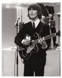 Beatles - George on Strage, Ed Sullivan Show - C 1964 CBS Photography