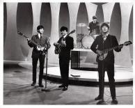 Beatles - John, Paul, Ringo, Vince Calanda - Ed Sullivan Show - C 1964 CBS Photography