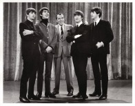 Beatles - Ed Sullivan & Beatles Pose - Ed Sullivan Show - C 1964 CBS Photography