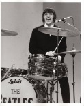 Beatles - Ringo on Stage - Ed Sullivan Show - C 1965 CBS Photography