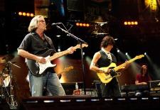 Crossroads 2010 - Eric Clapton & Jeff Beck, © Kevin Mazur