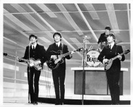 Beatles - Full Band 1st Show, Stage Ed Sullivan Show -  C 1964 CBS Photography