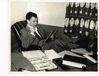 All Or Nothing At All 11 © Charles Granata - 1945 FS reading at desk