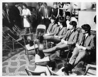 Beatles Backstage Ed Sullivan Show - C 1965 CBS Photography
